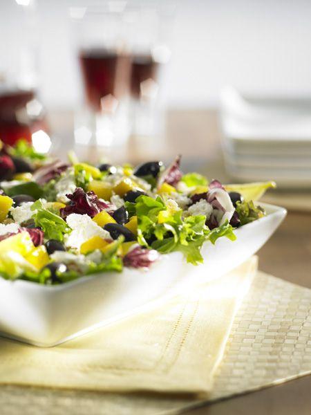 Rose Reisman: Mango Feta Salad