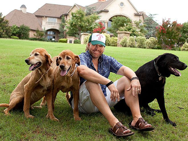 Photo of Toby Keith & his  Dog