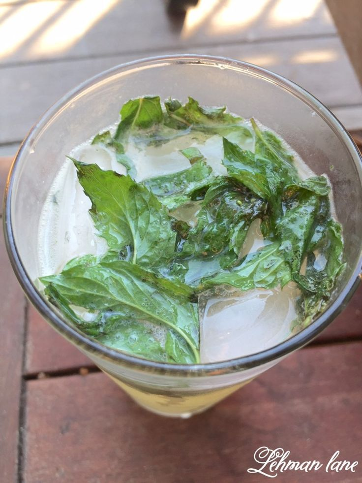 When the weather starts to warm up Jason and I enjoy making mojitos. From what I have heard they have less calories than a glass of white wine. So if…
