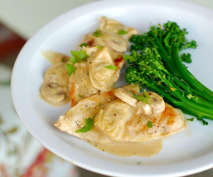 Easy Italian Chicken with Cream Sauce