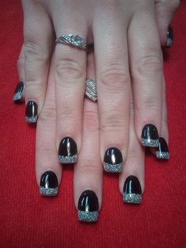 Happy New Years - Nail Art Gallery by nailsmag.com check out www.MyNailPolishObsession.com for more nail art ideas.
