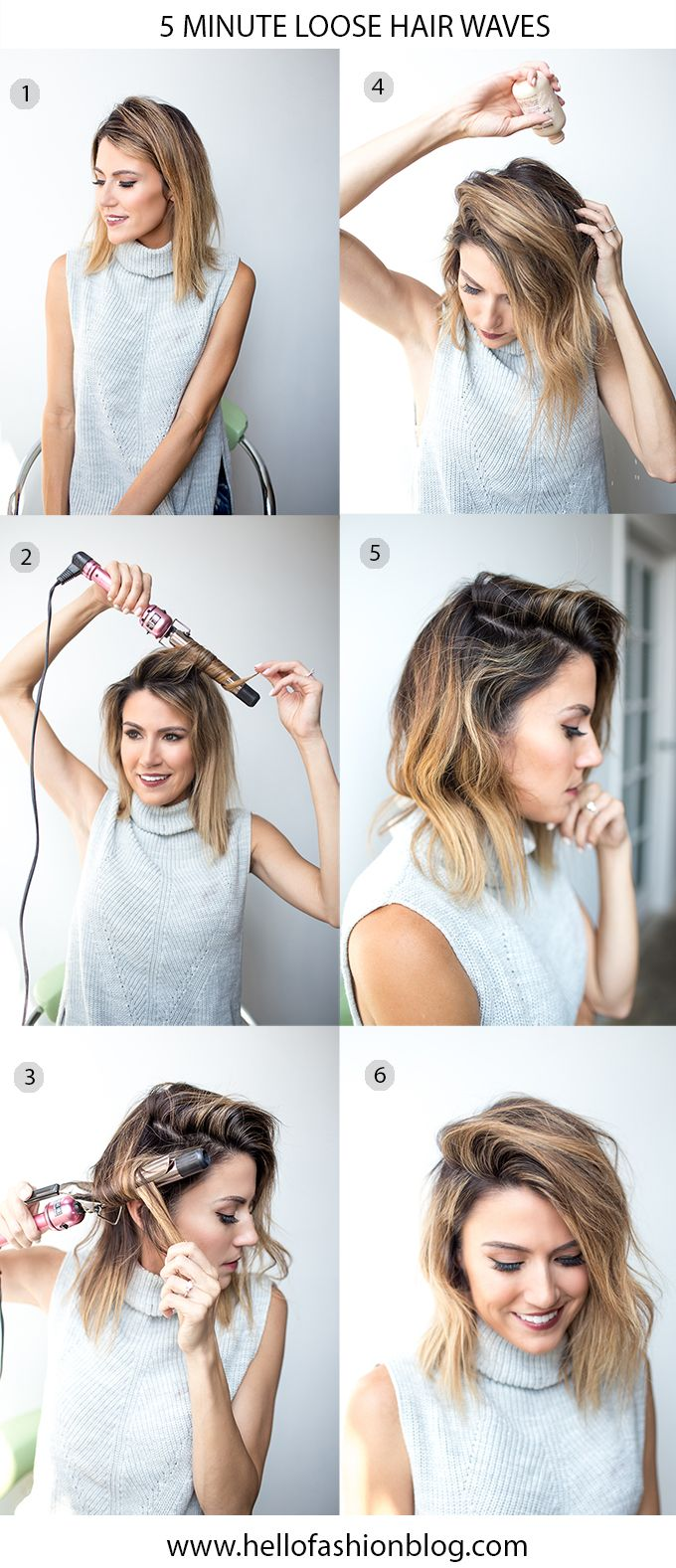 5-Minute Fall Hair Styles | Hello Fashion