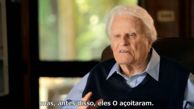 """A Cruz"" Última mensagem de Billy Graham na TV [Legendado]"