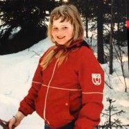 Hier in Lappland lernen alle schon als Kind das Langlaufen!