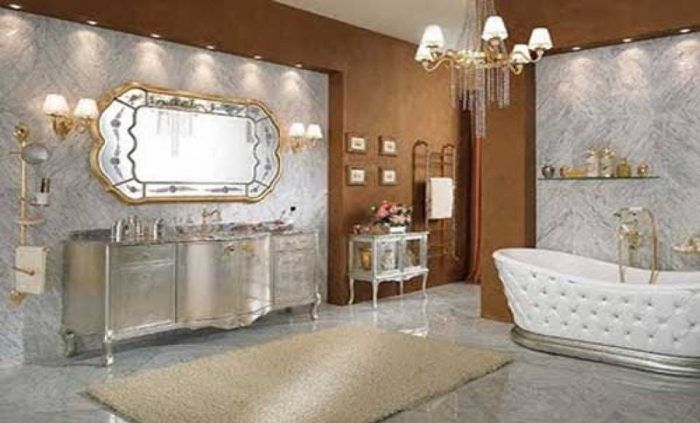 I don't Know If These Pictures For Bathrooms Or Living Rooms !!! - 7 Day USA