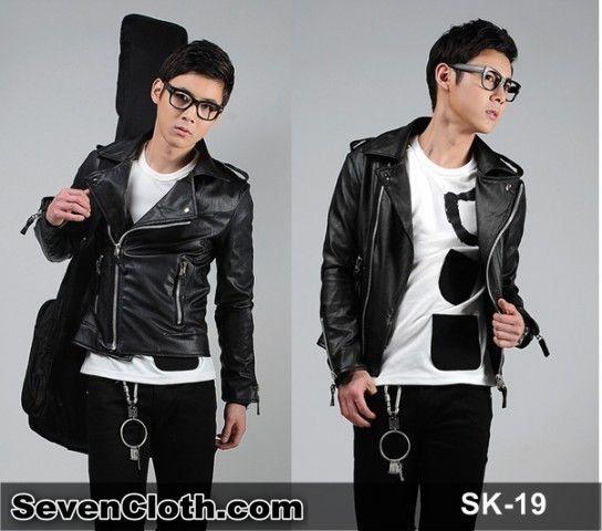 jual jas blazer jaket korea murah online (sk 19) kulit