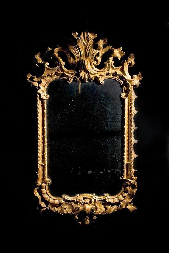 Gold embellished frame