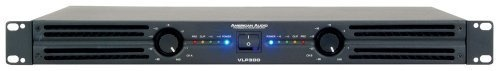 American Audio Vlp300 Amplifier by American Audio. $179.99. professional amplifier, 150w RMS per channel at 4 ohms, 100 w RMS per ch at 8 ohms (bridge mono, 300 w RMS per ch @ 8 ohms