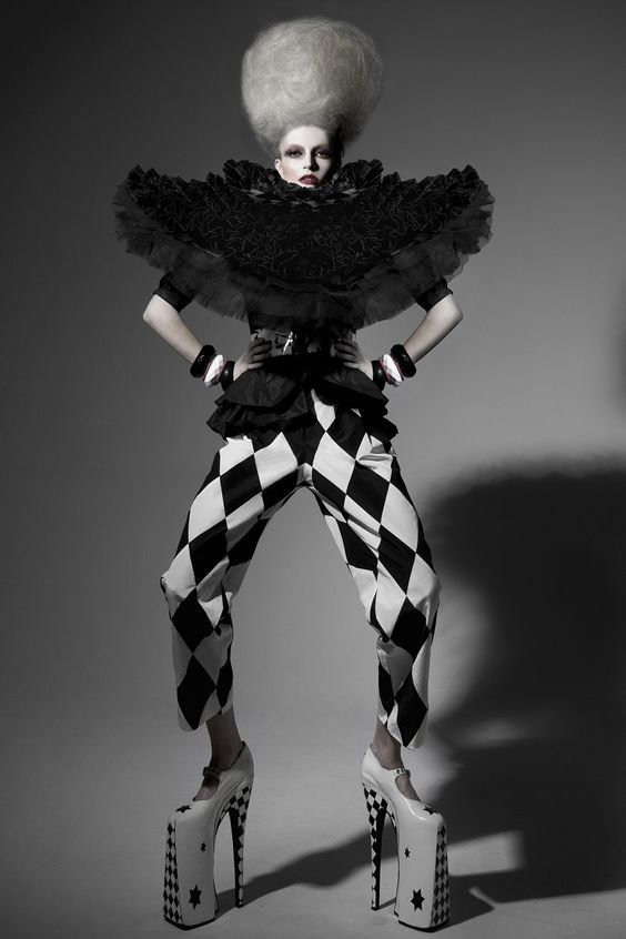 Image result for commedia inspired couture