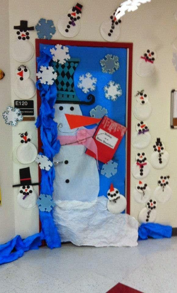 Νηπιαγωγείο αγάπη μου...: Χριστουγεννιάτικες Πόρτες για το σχολείο σας!!!