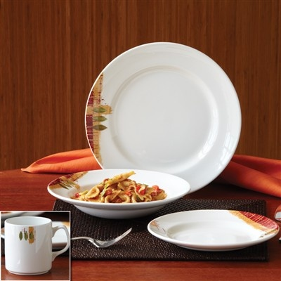 Guiding The Brides Sorrento Dinnerware Set