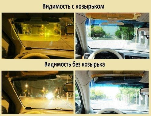 Новинка для водителей. Подарки профессионалам. Защита глаз от солнца и встречных фар. Улучшается видимость в несколько раз  http://zacaz.ru/products/avtomobili-turizm/poleznoe-voditelyam/solncezawitnyj-kozyrek-v-avtomobil/