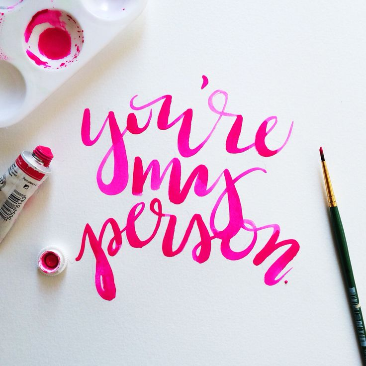 Hand lettering Jenn Gietzen of Write On! Design // #HandLettering #WriteOnDesign