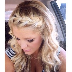 Sensational 1000 Ideas About Front Braid Hair On Pinterest Front Braids Short Hairstyles For Black Women Fulllsitofus