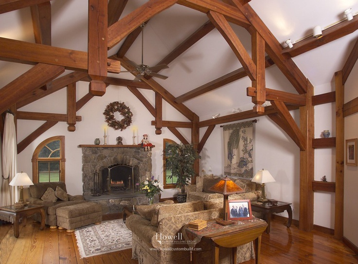 New Custom Home Timber Frame Saltbox Photography By Brian Vanden Brink