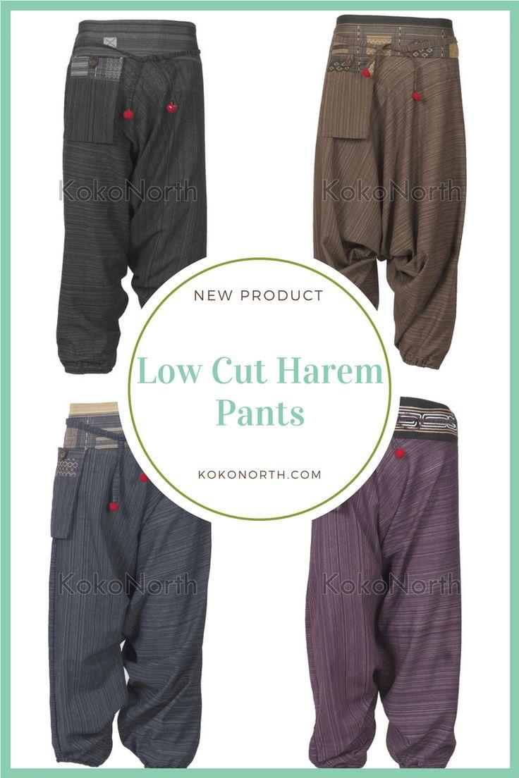 New Low Cut Harem Pants