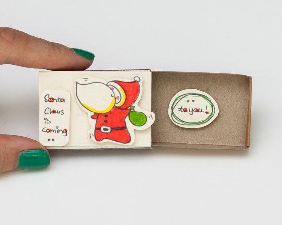 SALE: Cute Christmas Card/ Children Christmas Card/ par shop3xu