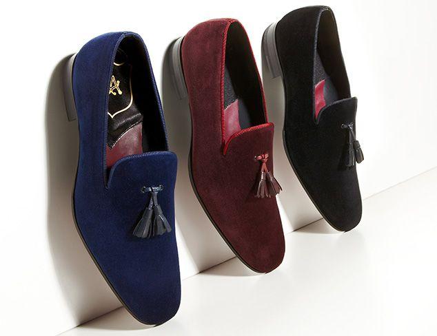 Mens dress slippers