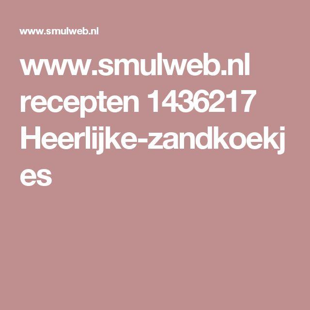 www.smulweb.nl recepten 1436217 Heerlijke-zandkoekjes