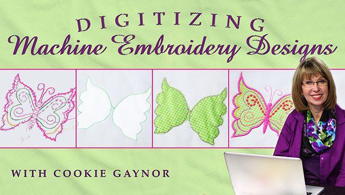 Digitizing Machine Embroidery Designs class on Craftsy.com