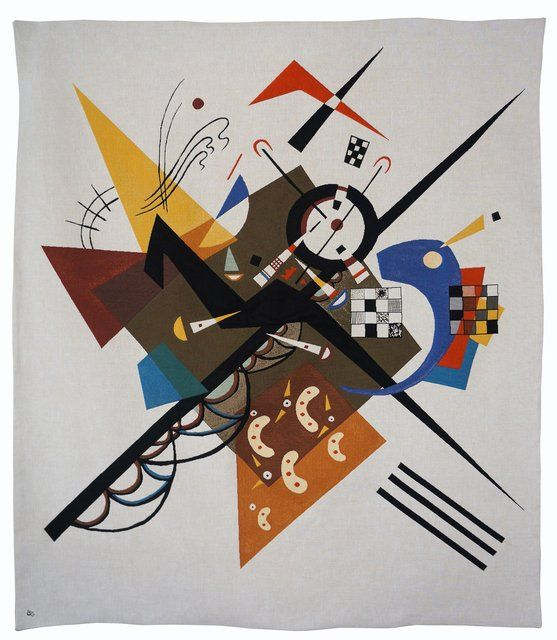Wassily Kandinsky - Auf Weiss II (tapestry), Design and Decorative Arts
