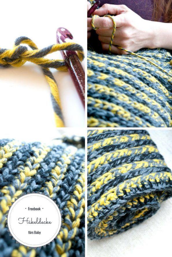 Häkeldecke Fürs Baby Kostenlose Anleitung Häkeln Crochet Diy