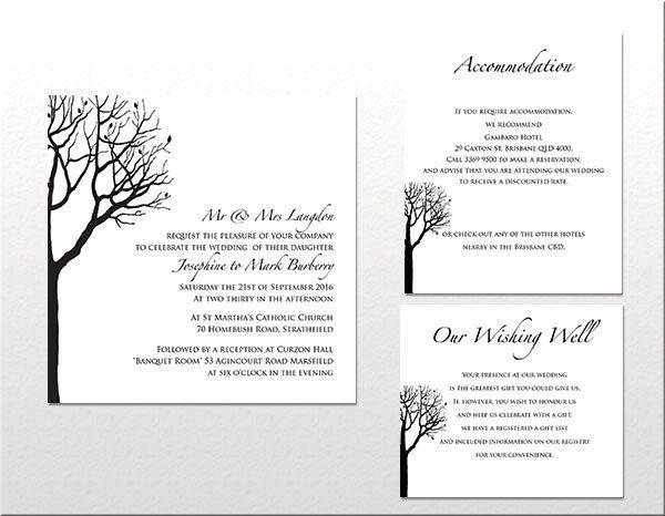 Wedding Invitation Tree Beautiful Wedding Invitations Wording Uk In 2020 Wedding Invitations Melbourne Tree Wedding Invitations Wedding Invitations Printable Templates