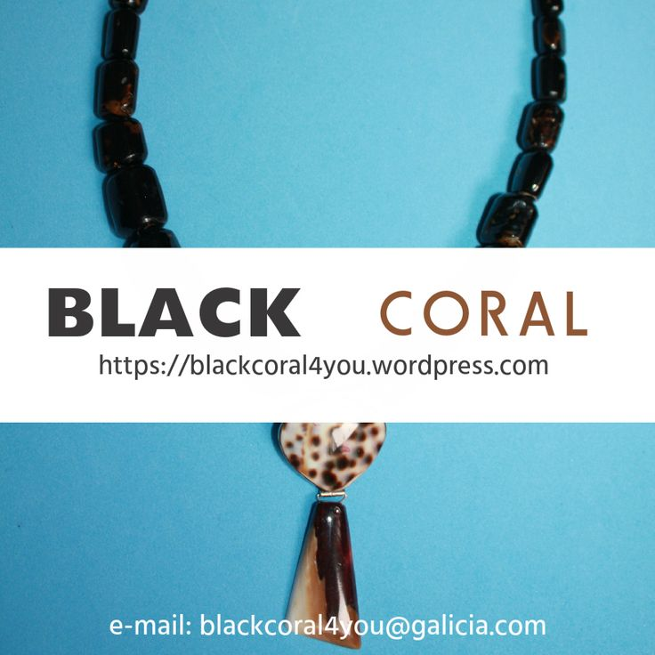 @BlackCoral4you  black coral jewelry handcraft pendants, earrings, beads, necklaces   http://blackcoral4you.wordpress.com/necklaces-io-collares/stock/ pendientes de coral negro, cuentas, collares, joyeria hecha a mano  mail: blackcoral4you@galicia.com Galicia - SPAIN 100% HandMade #necklaces #coral #necklaces #joya #beads  #black #jewellery #brazaletes #diy #cuentas #zuni #spiny #oyster #925 #sterling