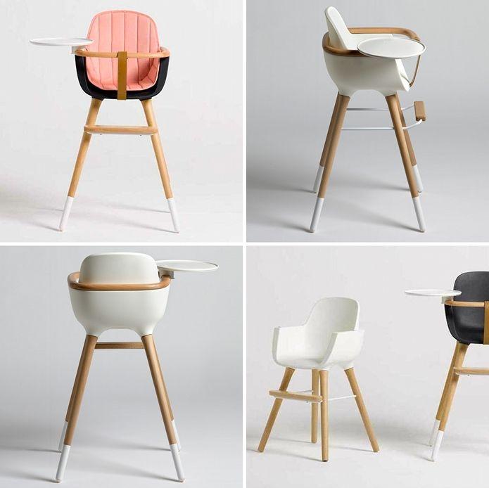 chaise haute bébé design moderne ovo micuna