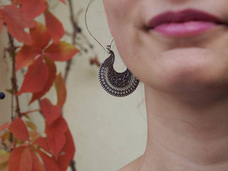 Rapsodie de toamnă   #metaphora #silverjewellery #silverjewelry #earrings #india