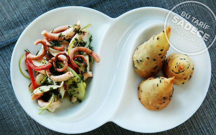 Tuti Restaurant'tan Ahtapot Salatası ve Tarhana Ezme Tarifi