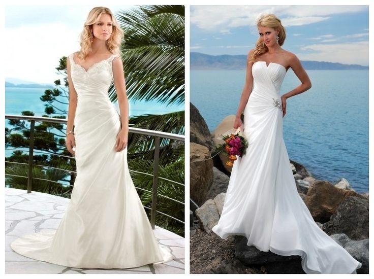 buy cheap beach wedding dresses online