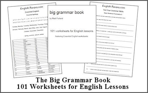 Answer key also downloadable #homeschool #grammar #teach