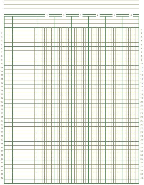 Ledger Paper Template Image Titled Write An Accounting Ledger - ledger template free