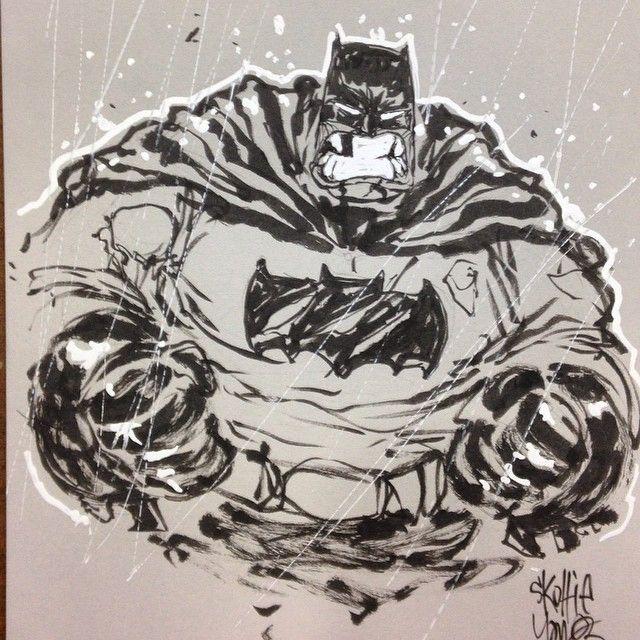 Dark Knight Returns sketch #rosecitycon