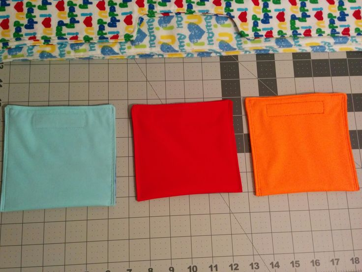 Washable/reusable snack bags.  PUL on the outside with cotton lining.
