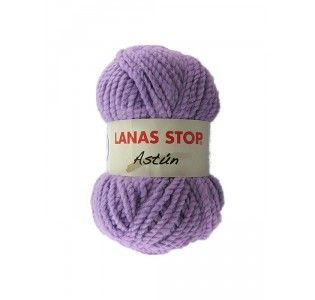 """#Lanas Stop """"Astun"""". Composición: 55% acrílico, 45% lana. Entre 86 y 94 m. Para agujas de punto del 10 - 12."""