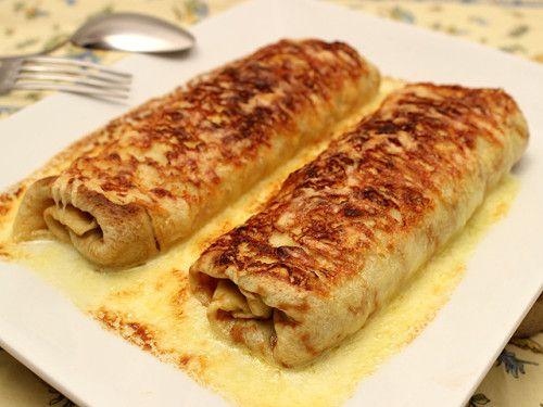 Ficelle Picarde - Recette rapportée d'une escapade en Picardie ! Un plat qui réchauffe et tient bien au corps malgré sont apparente légèreté ! Photo : http://la-cuisine-des-jours.over-blog.com © 2013