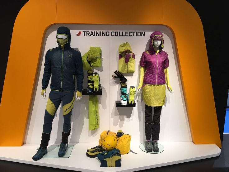 New FW 2017/2018 Training collection at ISPO 2017. Colour your 2018 with La Sportiva!