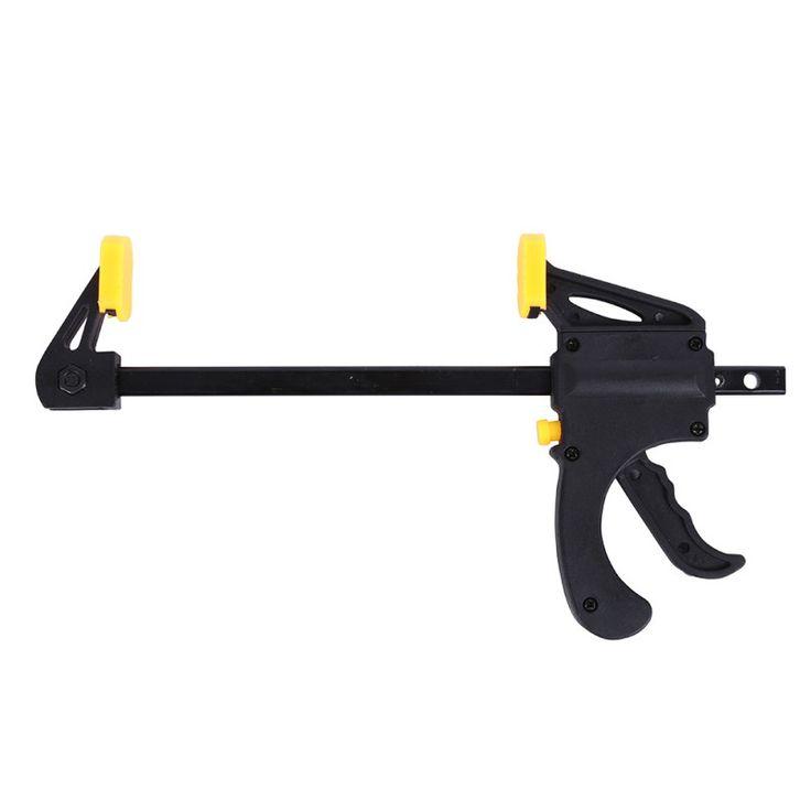 4 Pulgadas llave de Trinquete Rápida Velocidad de Lanzamiento Squeeze Clamp Clip Kit de Trabajo de Madera Esparcidor Adminículo de la Herramienta de Mano de BRICOLAJE Barra de Trabajo