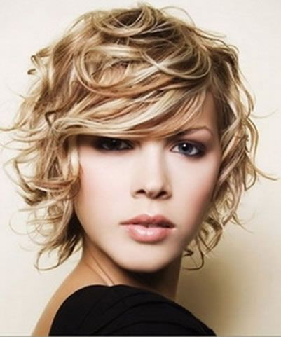 Different Types Amazing Short Curly Hairstyles For 2013