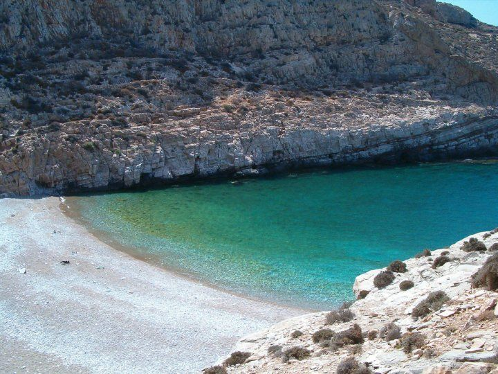 Livadaki Beach, Folegandros.