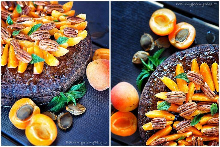 Cuketový dort s meruňkama