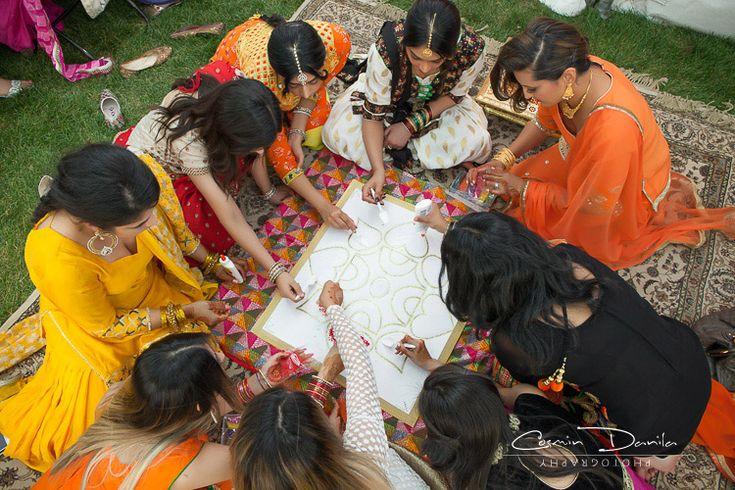Gug & Manny - Punjabi Pre-Wedding Rituals in Edmonton | Cosmin Danila Photography - I See Beautiful People