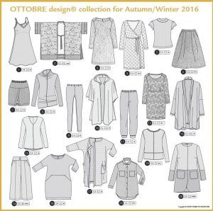 Schnittmuster Ottobre design 05/2016 – dress and cardi 16 & 17!