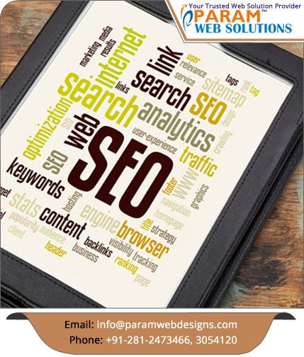 #SearchEngineOptimization - Get listed your website in top in #Google and other major search engines. http://paramwebdesigns.com/