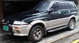 Ssangyong musso Bought new in 1997