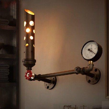INDUSTRIO COLLECTION METAL STEAM LIGHT