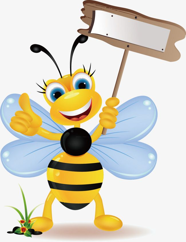Cute Bee Bee Clipart Bee Vector Simple Png Transparent Clipart Image And Psd File For Free Download Bee Clipart Bee Pictures Cute Bee
