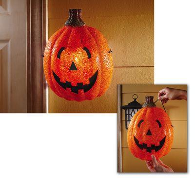 Pumpkin Porch Halloween Light Cover Halloween